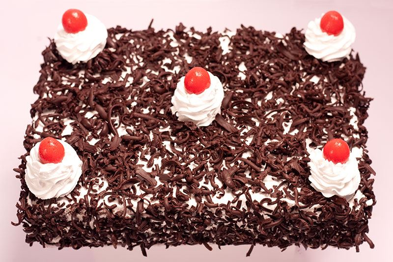 Black Forest Pastry Square One Homemade Treats