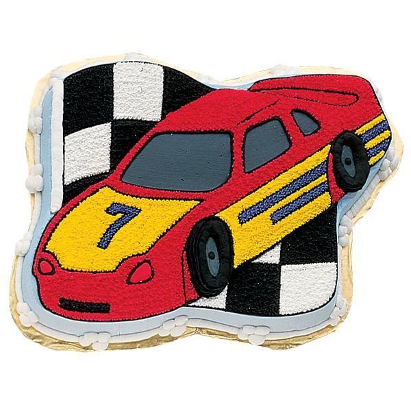 Race Car Cake Square One Homemade Treats