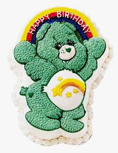 Picture of Care Bear Cake