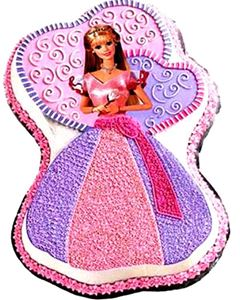Picture of ENCHANTED BARBIE CAKE