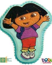 Picture of Dora The Explorer Cake