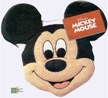 Picture of Mickey Mouse Face Cake