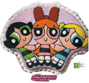 Picture of Power Puff Girls Cake