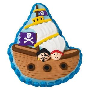 Picture of PIRATE SHIP CAKE