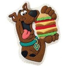Picture of SCOOBY DOO WITH BURGER CAKE