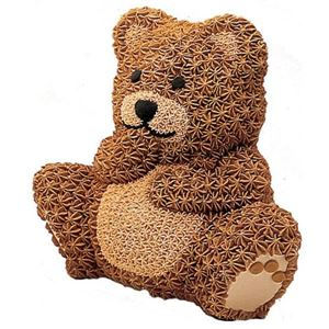 Picture of STAND-UP CUDDLY BEAR CAKE