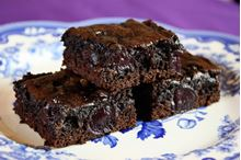 Picture of Black Forest Brownies