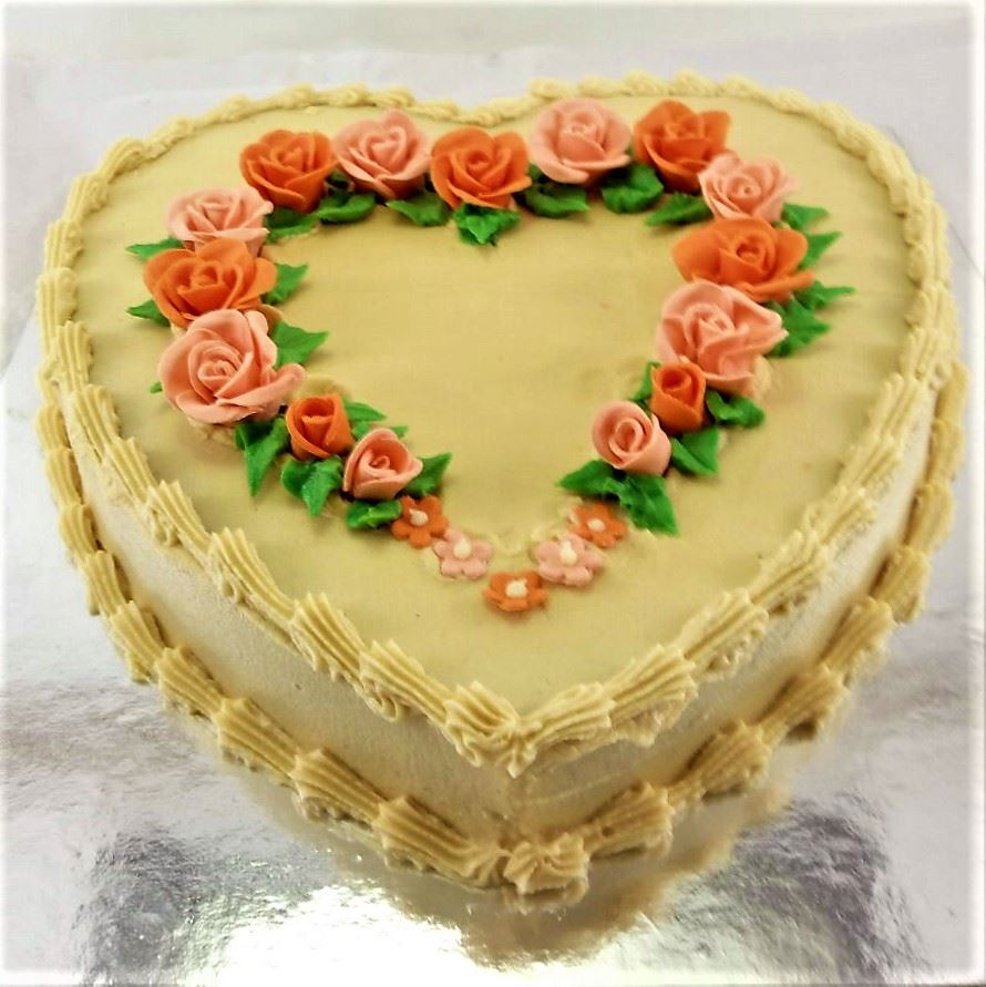 Heart Shape Cake Decoration At Home : Heart Shape Cakes. Square One Homemade Treats