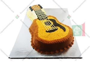 Picture of Guitar Cake
