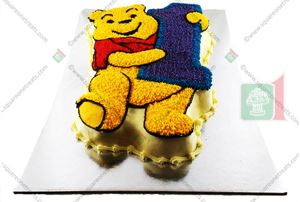 Picture of Winnie the Pooh Cake  (First Birthday)