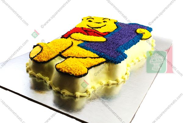 Picture Of Winnie The Pooh Cake First Birthday