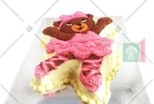 Picture of Ballerina Bear Cake