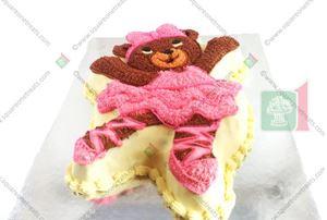 Picture of Ballerina Bear Cake