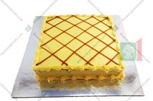Picture of Butterscotch Cake Iced