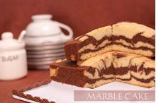 Picture of  Chocolate Marble Cake 500g
