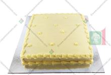 Picture of Eggless Vanilla Cake Iced 500g