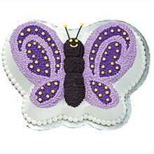 Picture of Butterfly Eggless Chocolate Cake
