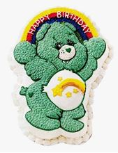 Picture of Care Bear Caramel Cake