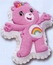 Picture of Care Bear Eggless Vanilla Cake