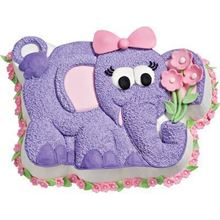 Picture of Elephant Eggless Chocolate Cake