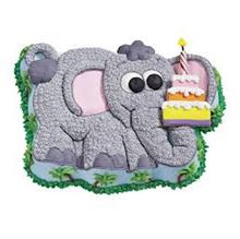Picture of Elephant Eggless Vanilla Cake