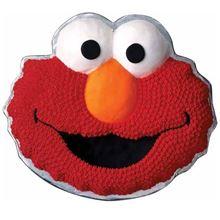 Picture of Elmo Eggless Vanilla Cake