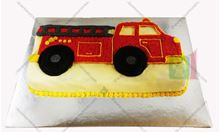 Picture of Fire Truck Butter Cake