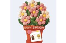 Picture of Flower Pot Eggless Chocolate Cake