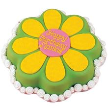 Picture of Flower Power Chocolate Cake
