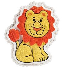 Picture of Friendly Lion Eggless Chocolate Cake