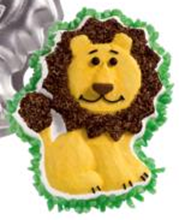 Picture of Friendly Lion Eggless Vanilla Cake