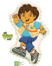 Picture of Go Diego Go Eggless Vanilla Cake