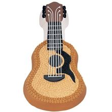 Picture of Guitar Eggless Chocolate Cake