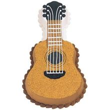 Picture of Guitar Eggless Vanilla Cake