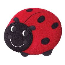 Picture of Ladybug Butter Cake