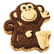 Picture of Monkey Eggless Vanilla Cake