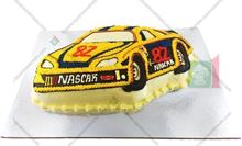 Picture of Nascar Eggless Vanilla Cake
