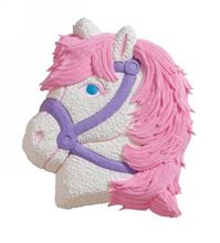 Picture of Party Pony Eggless Chocolate Cake