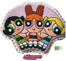 Picture of Power Puff Girls Caramel Cake