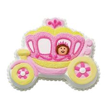 Picture of Princess Carriage Caramel Cake