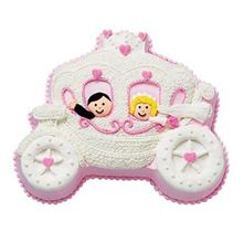 Picture of Princess Carriage Chocolate Cake