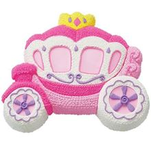 Picture of Princess Carriage Eggless Chocolate Cake