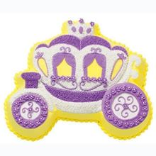 Picture of Princess Carriage Eggless Vanilla Cake
