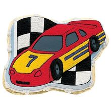 Picture of Race Car Eggless Chocolate Cake