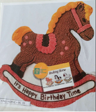 Picture of Rocking Horse Eggless Vanilla Cake