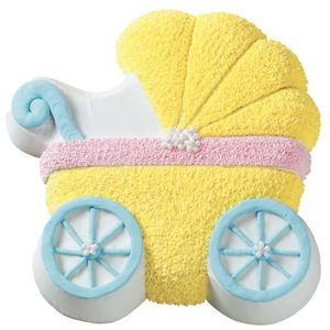 Picture of Baby Buggy Cake