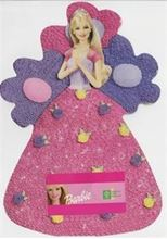 Picture of  BARBIE CAKE (In A Pink Frock) Eggless Chocolate Cake