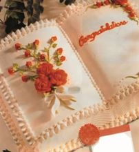 Picture of Book Small Eggless Vanilla Cake