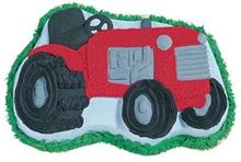 Picture of Tractor Eggless Chocolate Cake