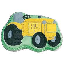 Picture of Tractor Eggless Vanilla Cake